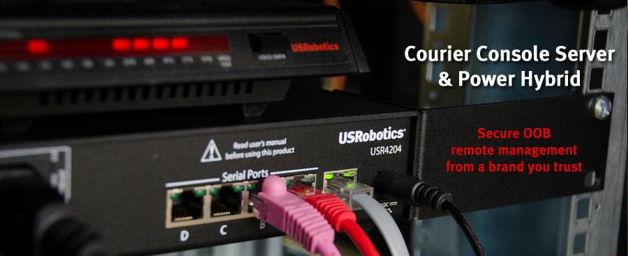 USR4204 Console Server & Power Hybrid