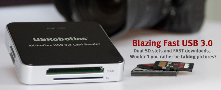 USR8420 Blazing Fast USB 3.0