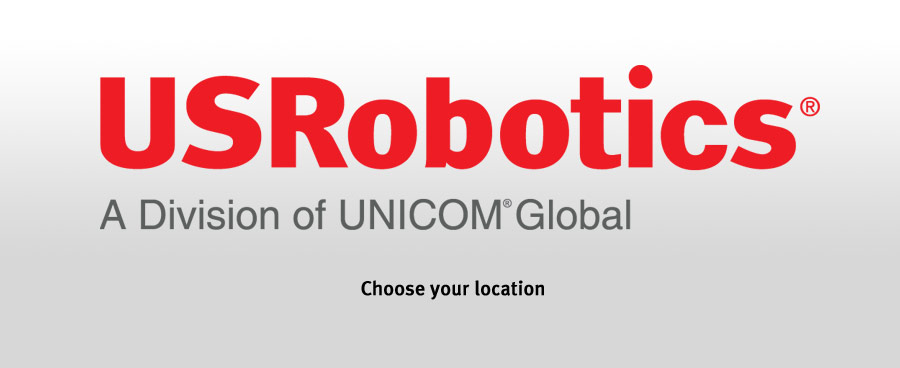 USRobotics pick your region