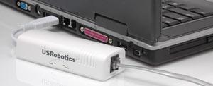 USR5637 56K* Controller USB Modem - Ora con comando voce attivato